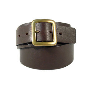 REGENT BELT Co. Wide Leather Belt -Made in England
